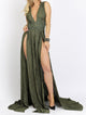 Baccio Luli Long Wrinkle Caviar Green