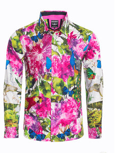 Barabas SPR215 Multicolor Men Shirt