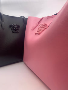 VERSACE DBFF362S-DVIT1S_IT KD60CP PINK W PINK W PINK MEDUSA BEACH TOTE W SMALL POCKET BAG INSIDE   size