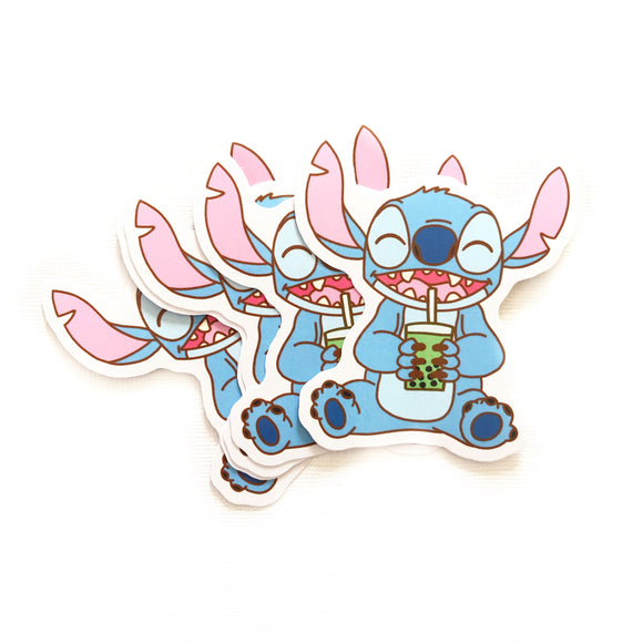 Boba Pal: Stitch Sticker
