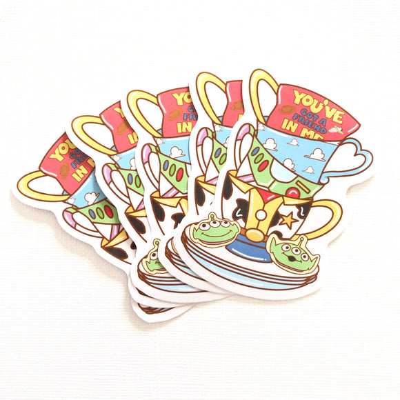 Friend in Me Teacups Sticker