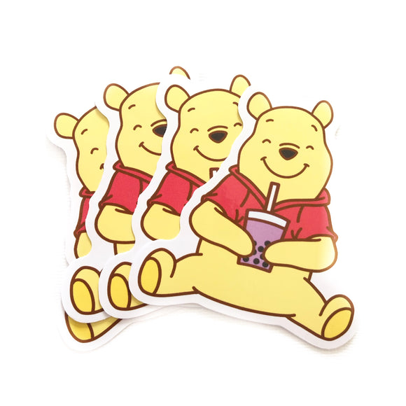 Boba Pal: Bear Sticker