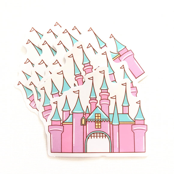 Enchanting Castle Sticker