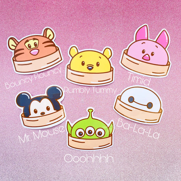 Bao Bun Stickers