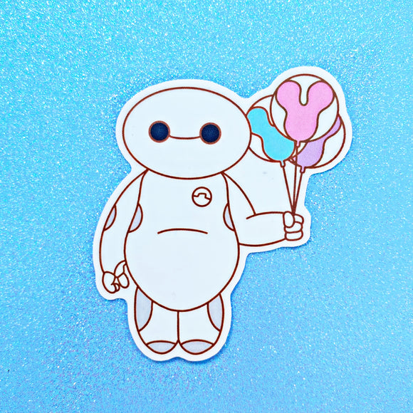 Balloon Baby Sticker
