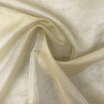 Organza Silk (Burnish Gold) - Natasha Fabric