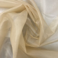 Organza Silk (Heirloom Beige) - Natasha Fabric