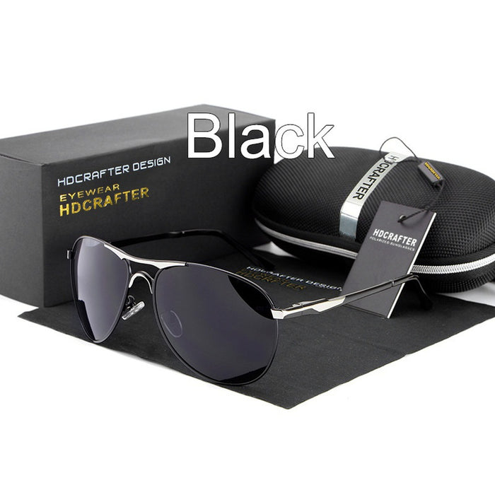 Men's Brand Designer  UV400 Polarized Sunglasses 7 colors