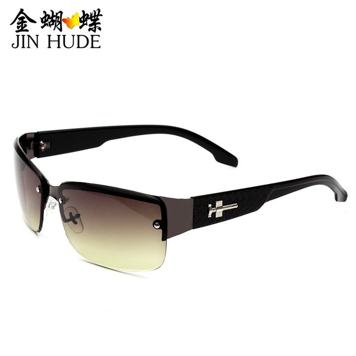 Men's Black UV400 Polarized Golf Outdoor Sunglasses