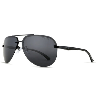 Men's Metal UV400 Polarized Golf Sunglasses Men with Reflective Coating