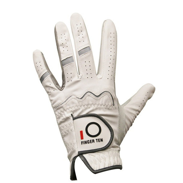 Mens White All Weather  Golf Gloves - 6 Pack