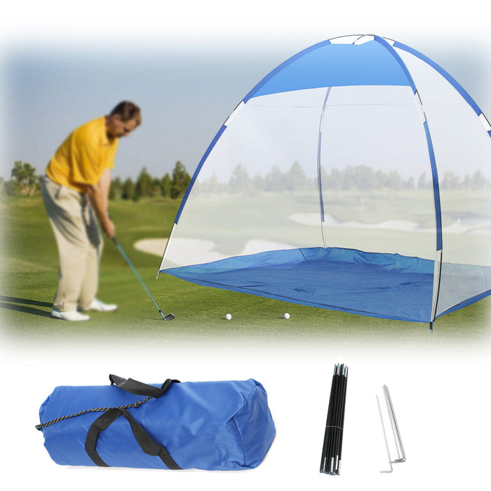 Outdoor Foldable Golf Practice Cage Aid