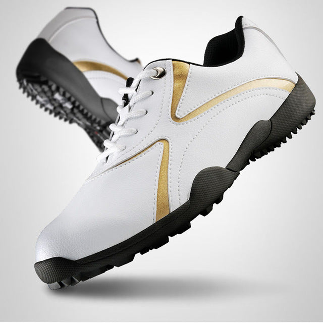 PGM Men's Golf Shoes - Waterproof and Breathable.