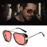 Iron Man 3 Tony Stark Replica Vintage Designer Sun glasses