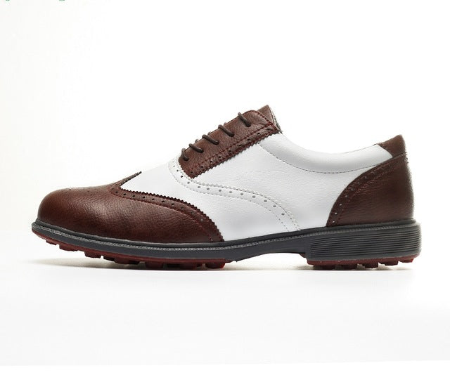 Mens Golf Shoes - Water-proof , Breathable, Spikes