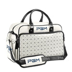 PGM PU Leather Waterproof Golf Clothes Sports Bag
