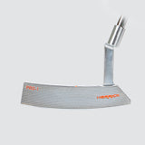 Herrick PRO1 Men's R/H forged CNC Putter along with PU grips, Steel shaft and Head Cover.