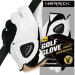 Men's Left Hand Genuine Sheepskin Leather Breathable Golf Glove