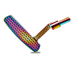 Herrick Mens R/H ESS Multi-Colored Putter with Multi-colored Steel Shaft.
