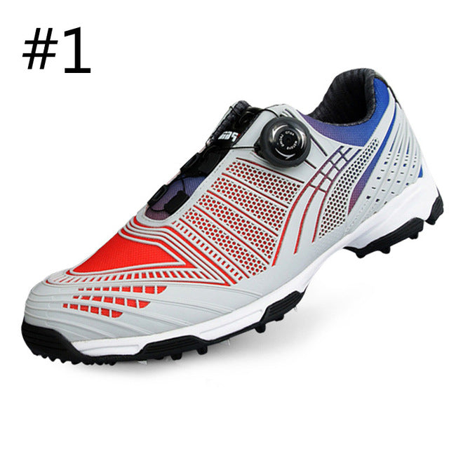 PGM Mens Waterproof Anti-slip Breathable Golf Shoes