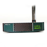 Herrick Men's PRO-X1 R/H Putter Forged CNC steel with Bending shaft PVD black