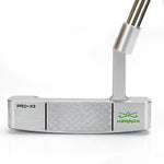 Herrick PRO-X3  Mens R/H  CNC Forged Steel (Silver/Green) Putter