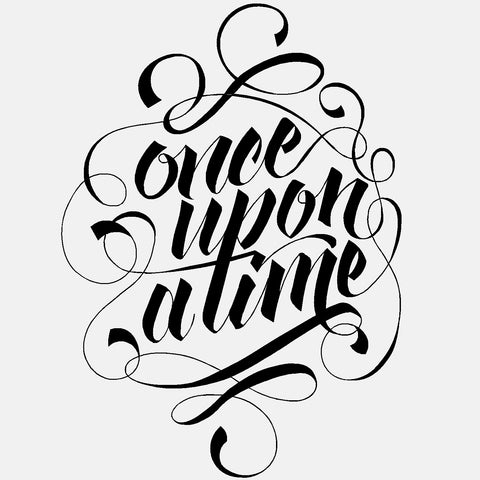 Once Upon A Time - diecut