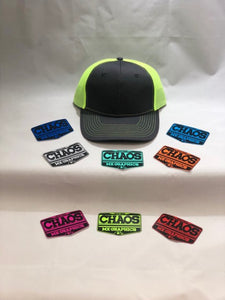 Gray/Neon Green Mesh Snap Back