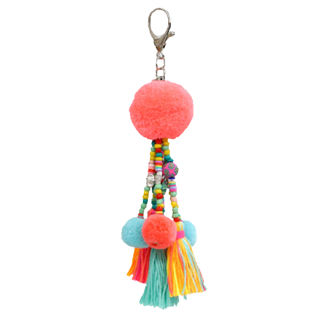 Coral Cay Tassel