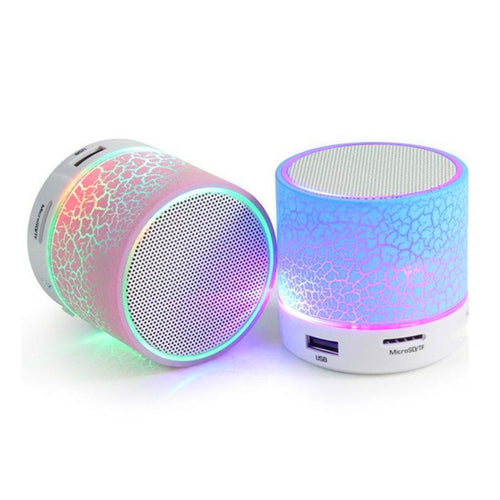 Bluetooth Speaker Mini Crack LED