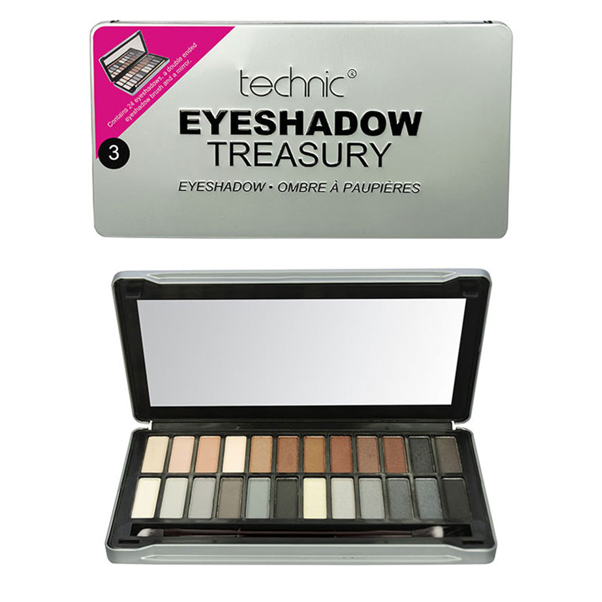 Technic Eyeshadow Tin