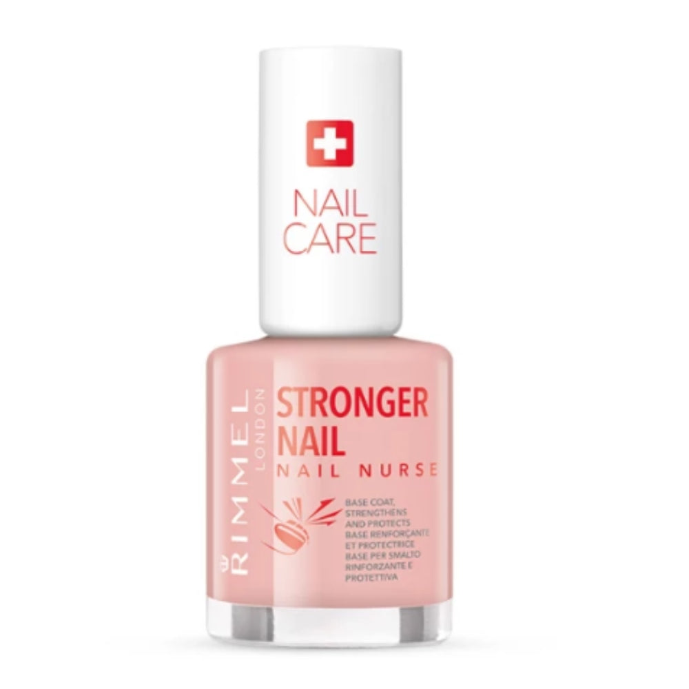 Rimmel Nail Nail Care Stronger Double Duty Base Coat