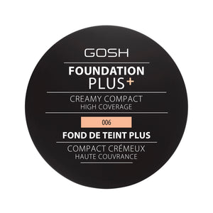 Gosh Foundation Plus+ Creamy Compact