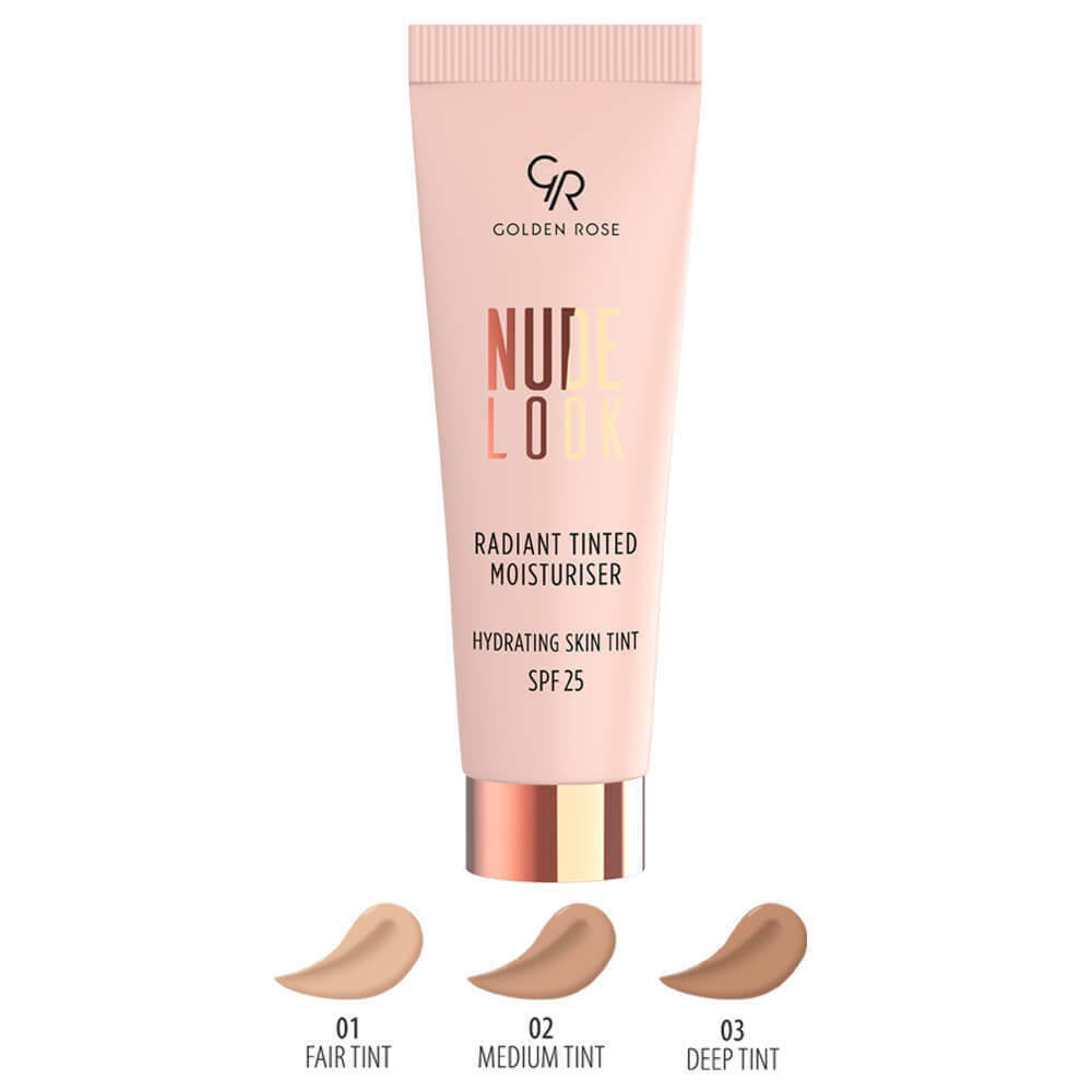 Golden Rose Nude Look Radiant Tinted Moisturiser