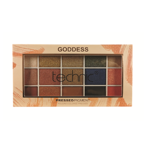 Technic Pressed Pigment Eyeshadow Palette - 15 Shades