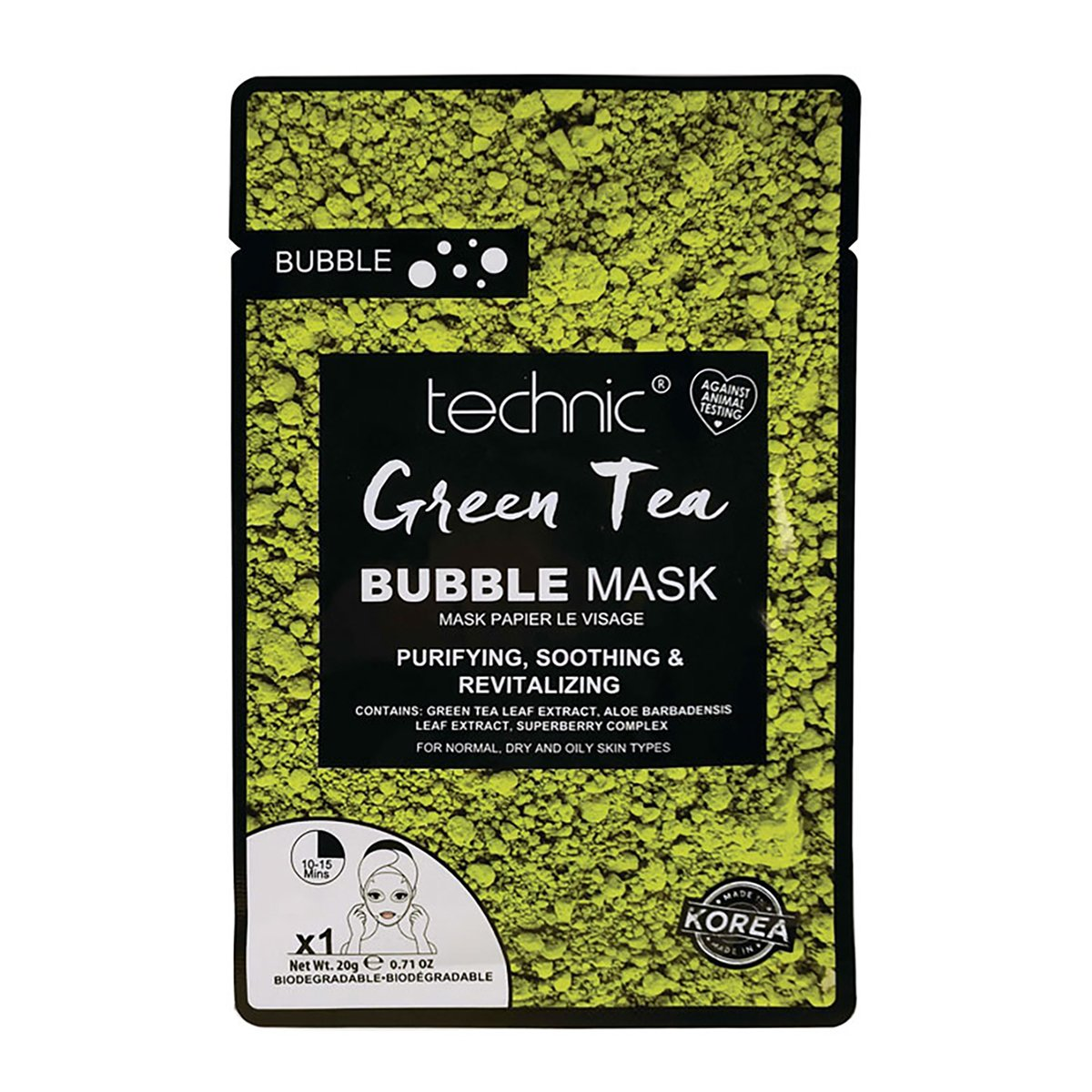 Technic Mask - Green Tea