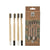 Danielle Clean & Green 4x Bamboo Charcoal Toothbrushes