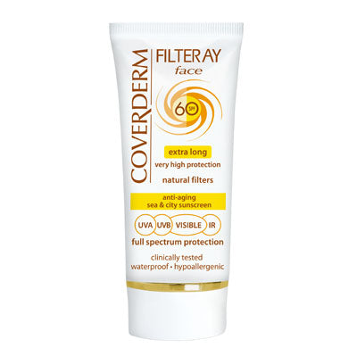 Coverderm Filteray Face Full Spectrum SPF 60 - Tinted