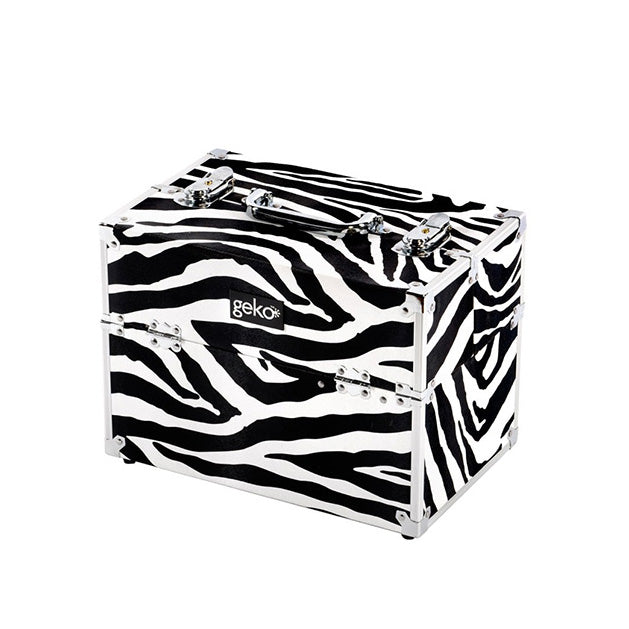 Geko Makeup Case - Zebra