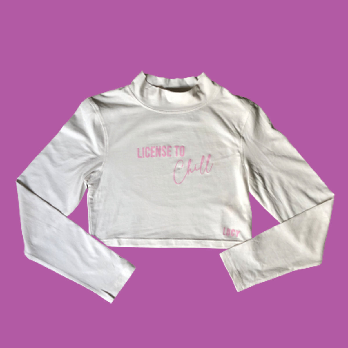 Lucy License to Chill Crop Top