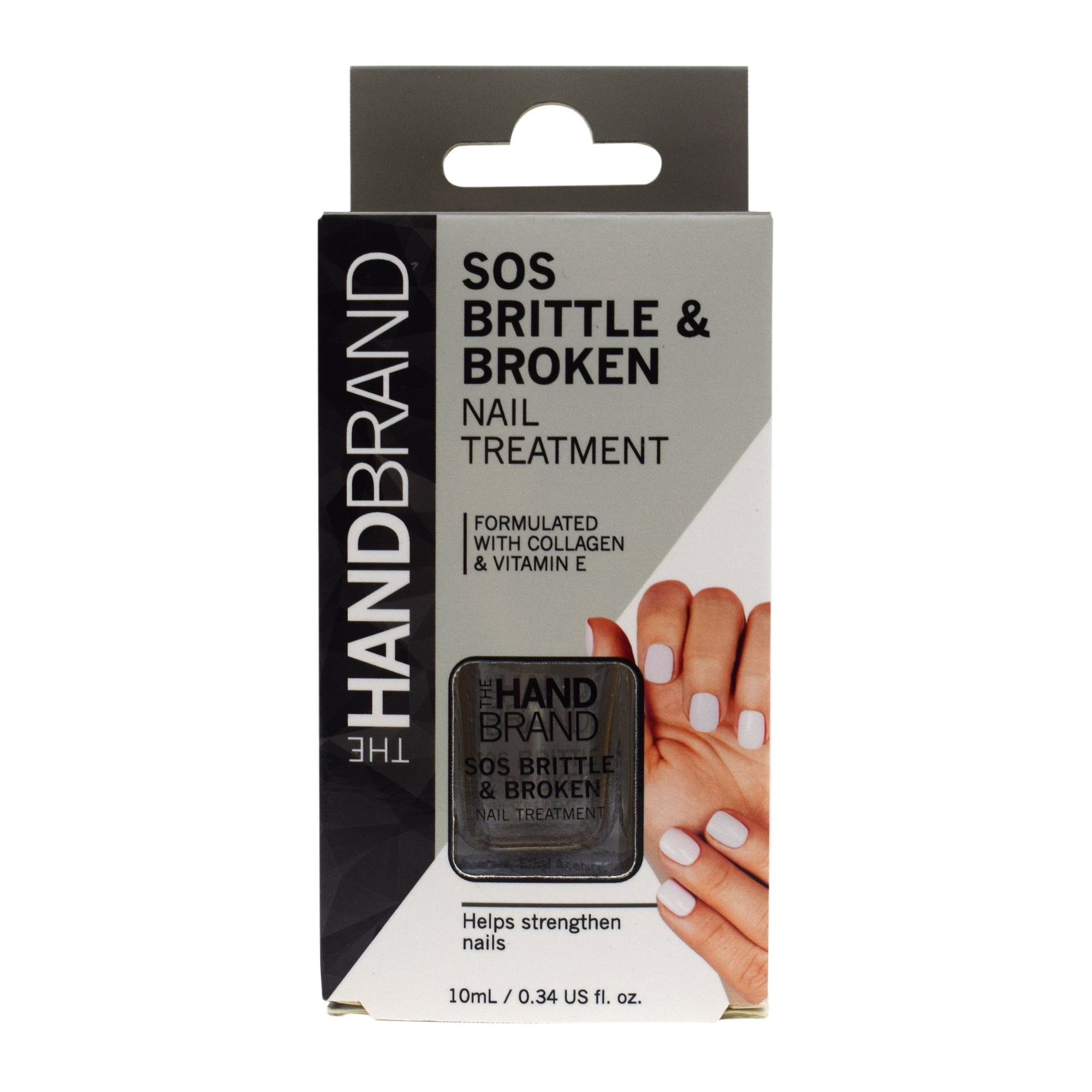 The Hand Brand Nail Treatment - SOS Brittle & Broken