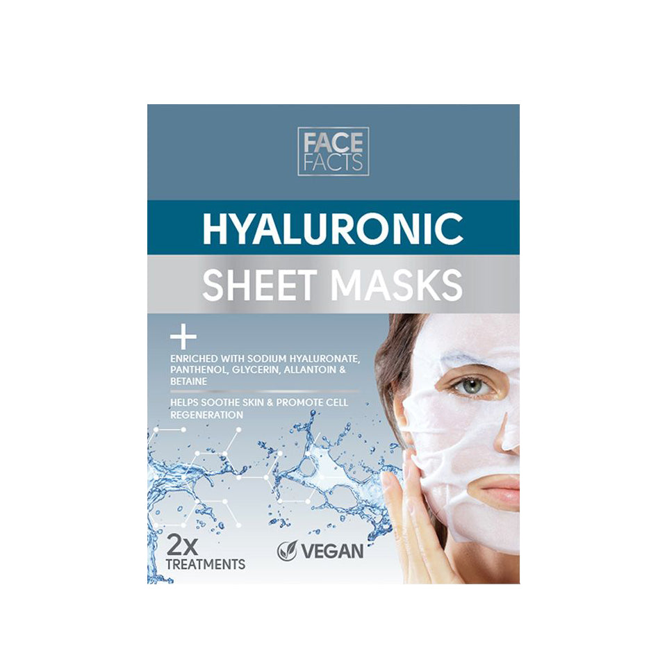 Face Facts Hyaluronic Sheet Mask