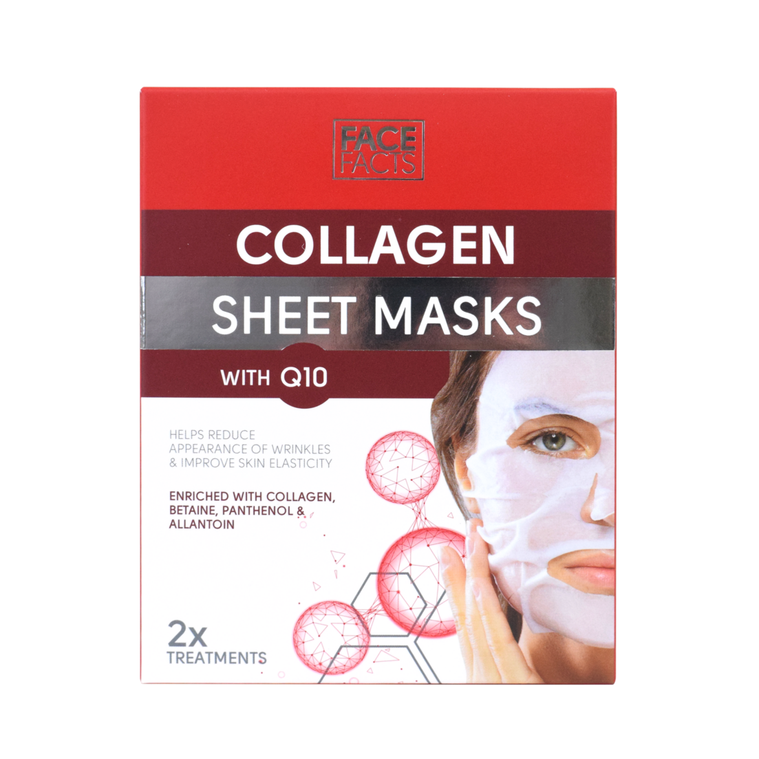 Face Facts Collagen & Q10 Sheet Mask
