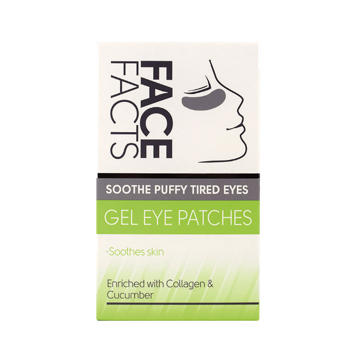 Face Facts Gel Eye Patches - Soothe Puffy Tired Eyes