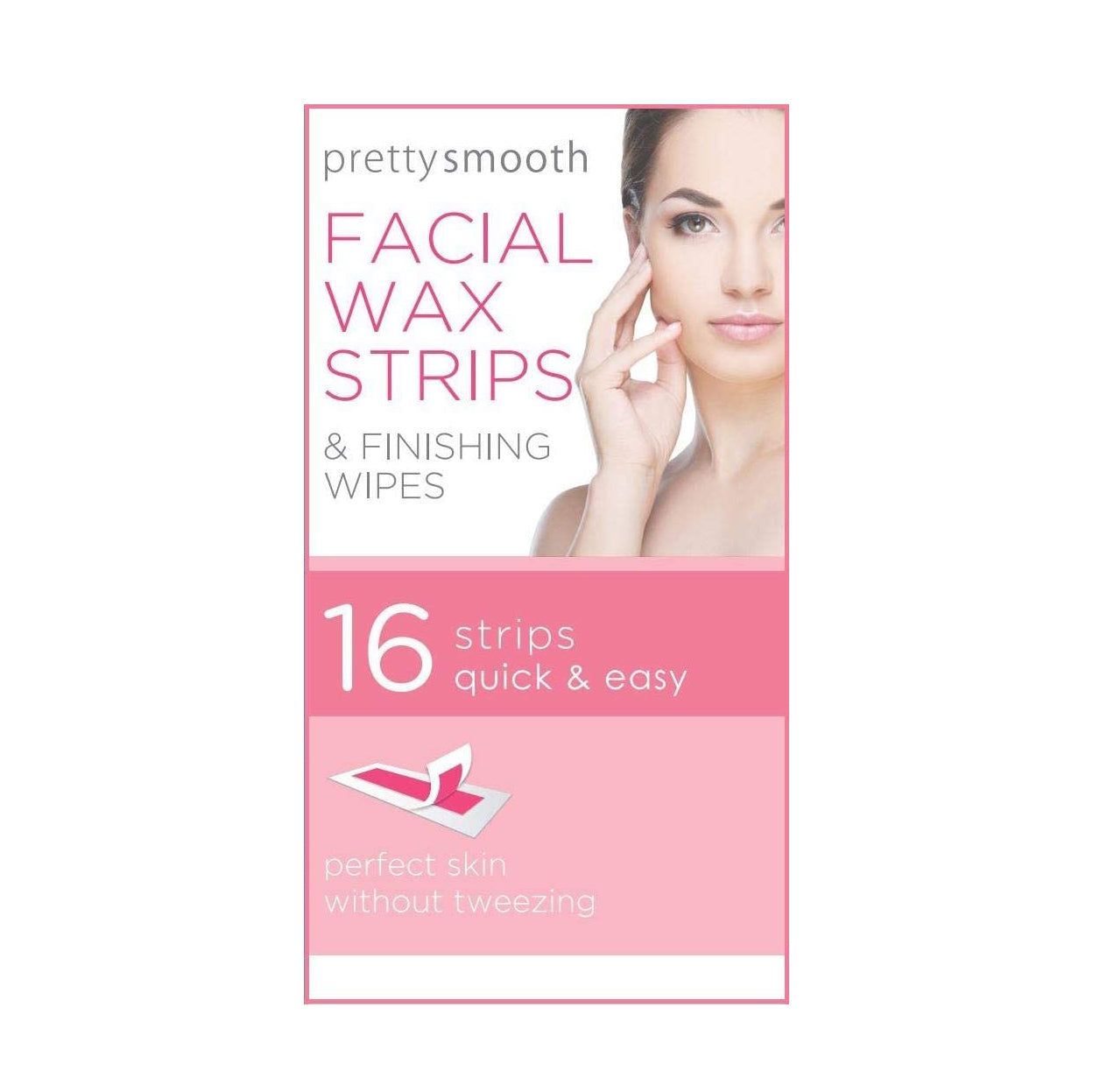 Pretty Smooth Facial Wax Stips