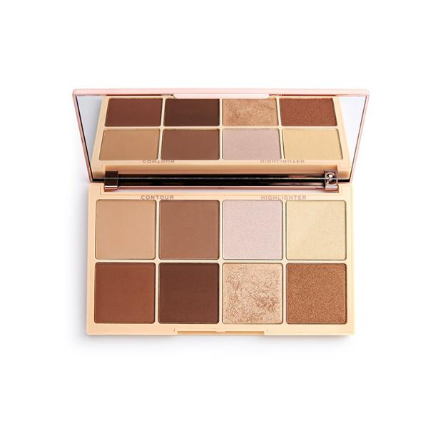 Revolution Highlight & Contour Palette - Revolution X Roxxaurus