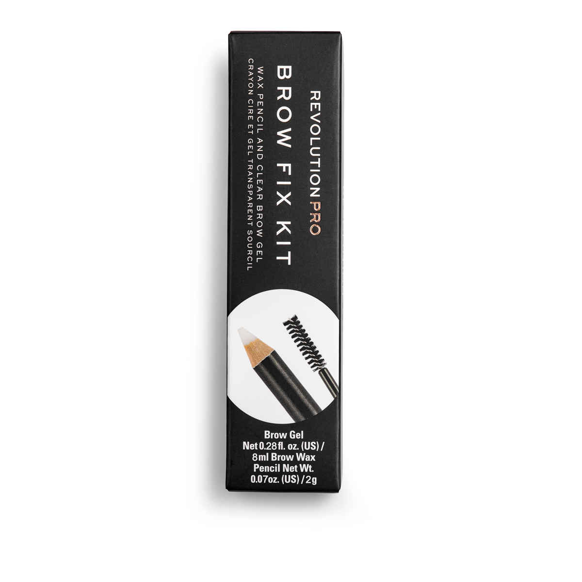 Revolution PRO Brow Brow Fix Kit - Brow Gel & Wax Pencil