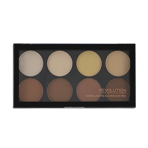 Revolution Iconic Lights & Contour Pro Palette