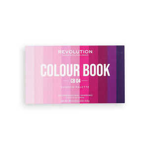Revolution Colour Book Shadow Eyeshadow Palette