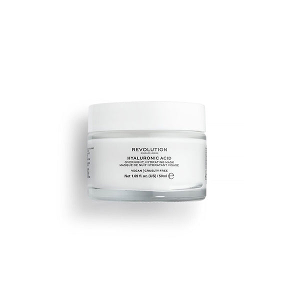 Revolution Hyaluronic Acid Overnight Hydrating Face Mask